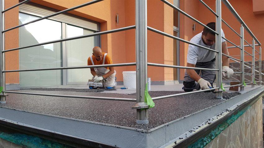 Hidroizolacija balkona s podjetjem K-tes